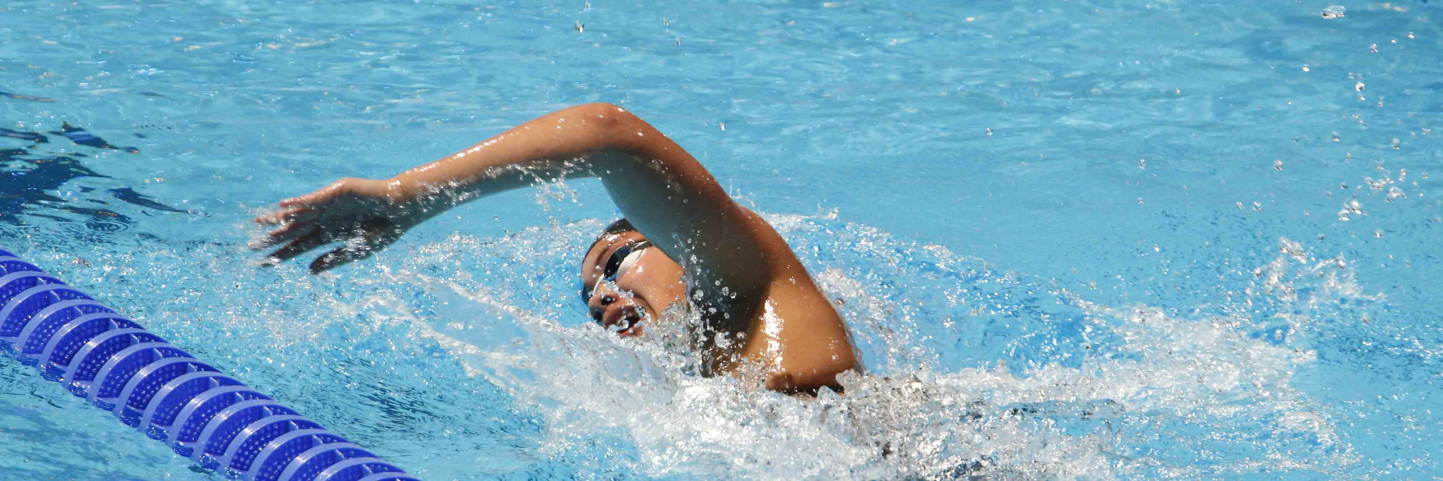 800m Freestyle Monica Saili