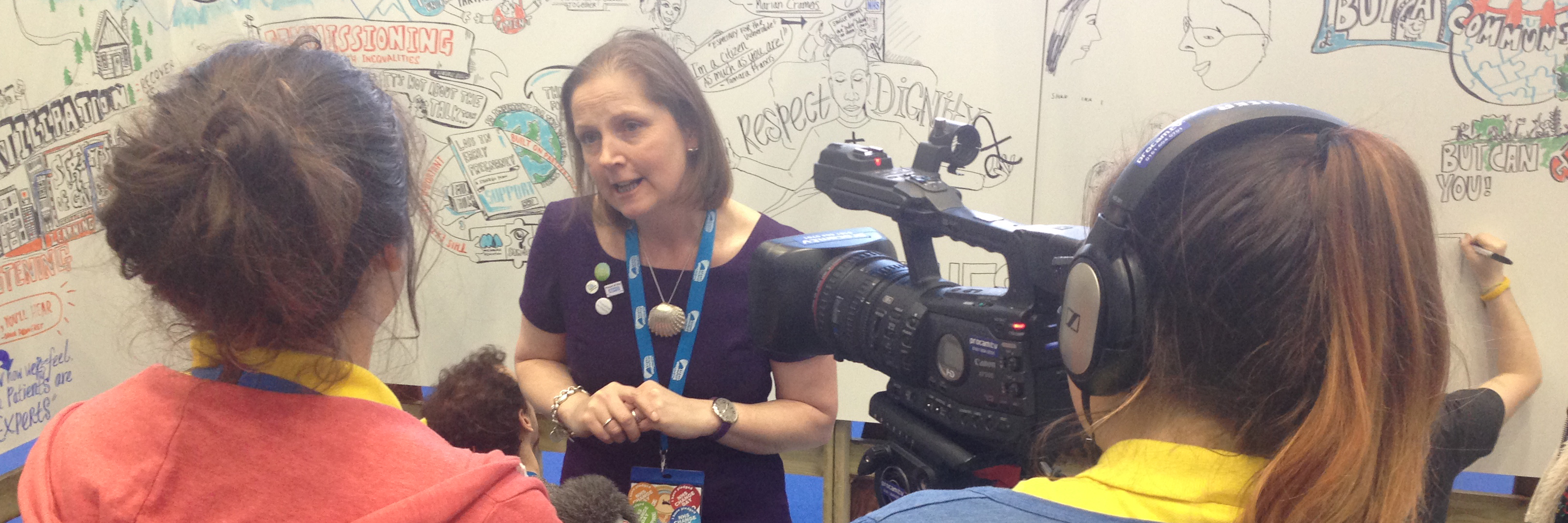 Kath Evans NHS Patient Experience