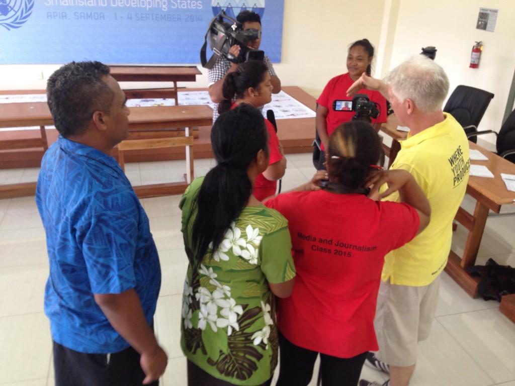 Training with Samoa
